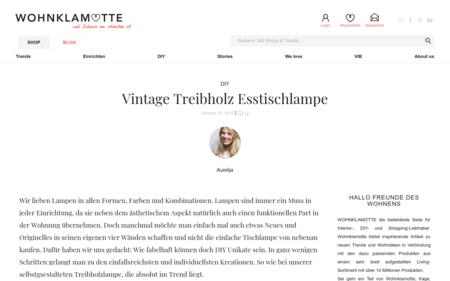 Vintage Treibholz Lampe Selber Bauen Bauanleitung Fur Lampe