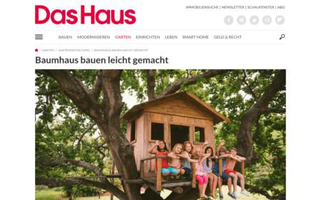 Baumhaus Selber Bauen Schritt Fur Schritt Bauanleitung Fur Baumhaus