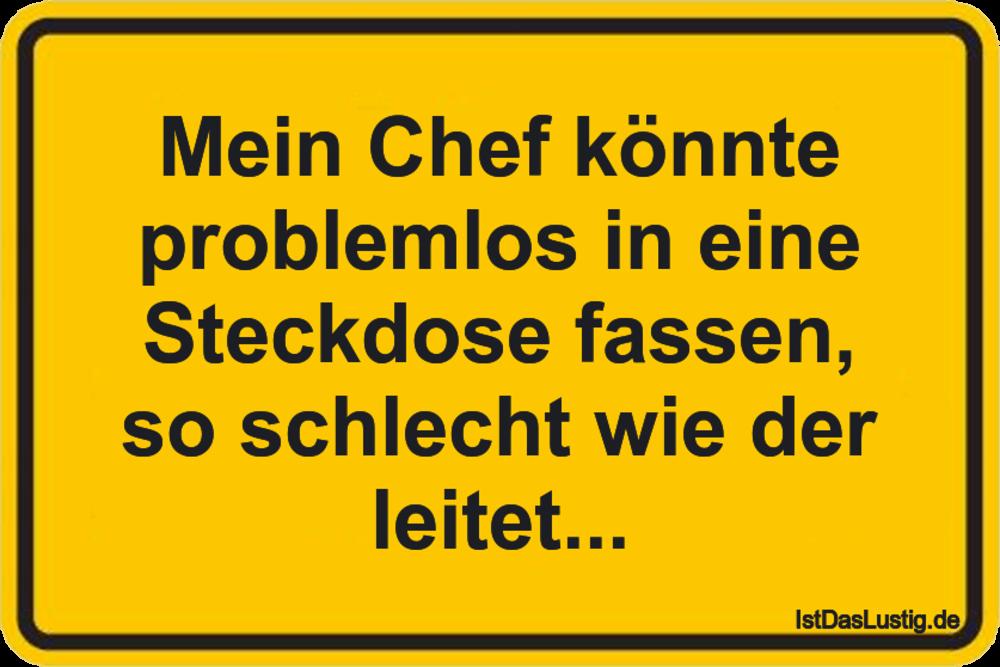Chef Sprüche