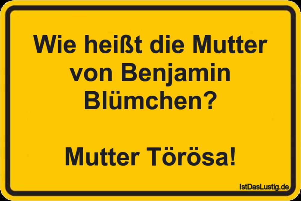 Wie Heißt Die Mutter Von Benjamin Blümchen Mu Istdaslustigde