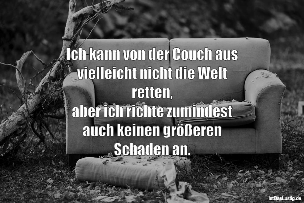 Couch Sprüche