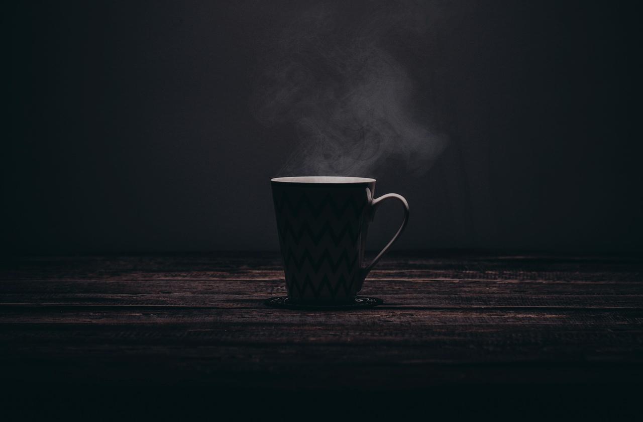Lustiger BilderSpruch   Trinkst Du Kaffee In Der Frühe, Kannst Du... Zum  Spruch