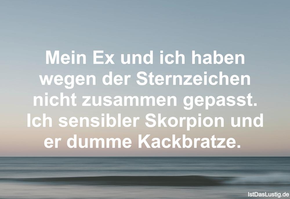 sprüche über den ex