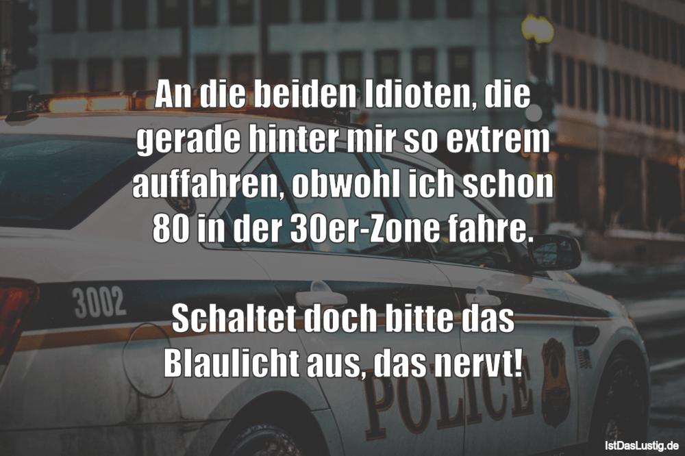 Lustige Bilder Polizei