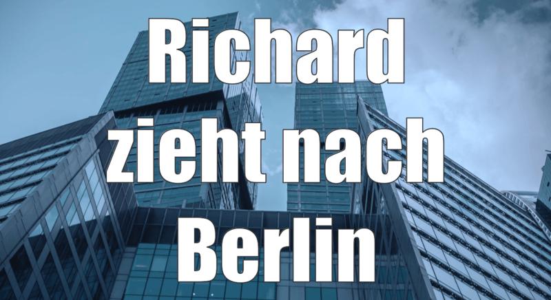 richard zieht nach berlin. Black Bedroom Furniture Sets. Home Design Ideas