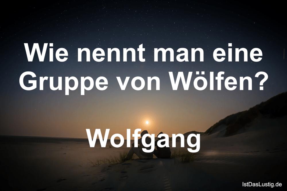 1deb60869d20 Wie nennt man eine Gruppe von Wölfen  Wolfgang - IstDasLustig.de