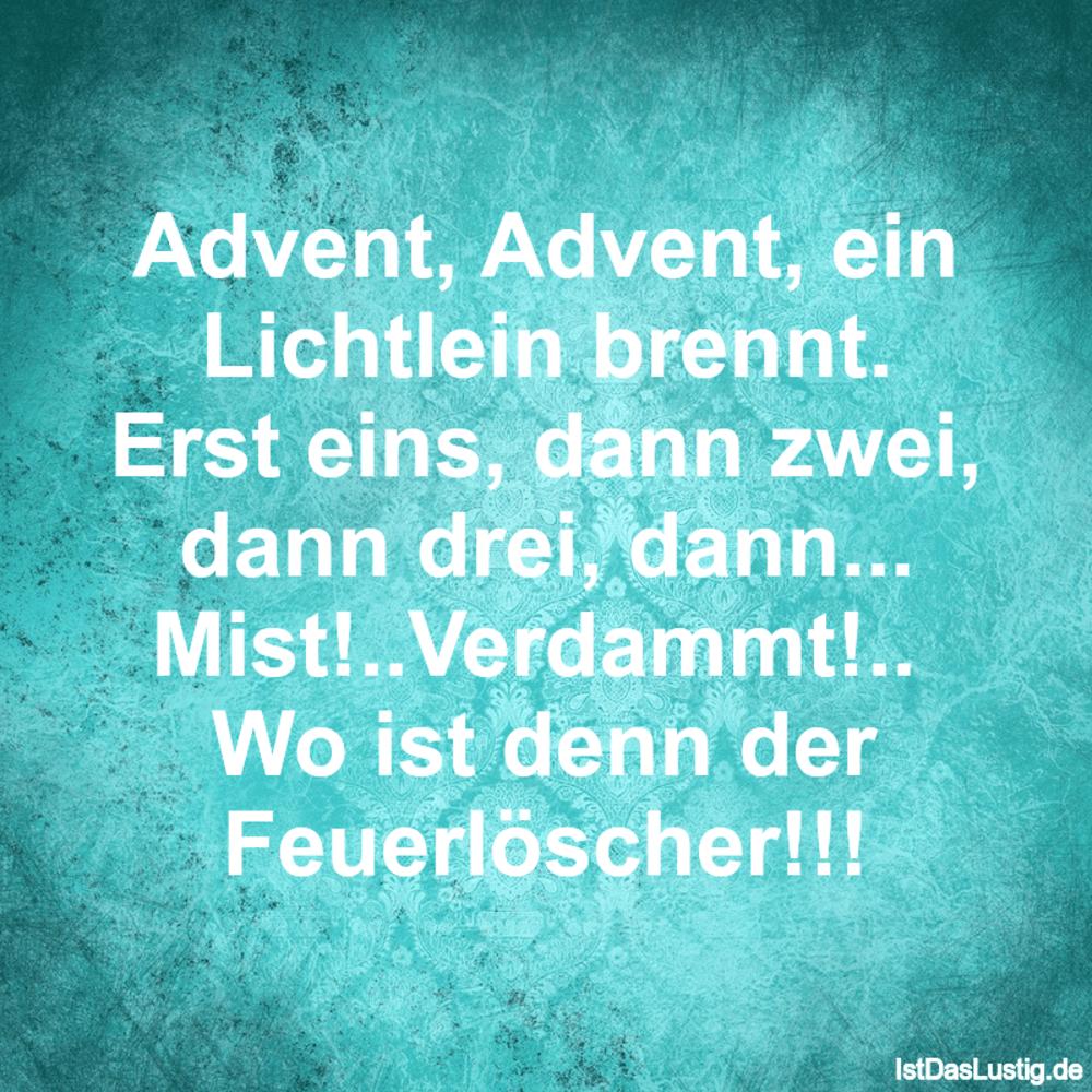 Die besten 4+ Advent Sprüche auf IstDasLustig.de